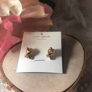 Kate Spade Gold Knot Earrings